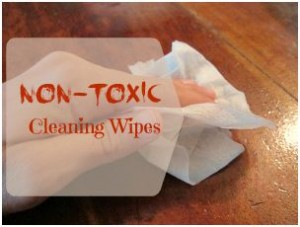Non-Toxic Cleaning Wipes