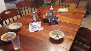 Messy Table - Of Monkeys and Ducklings
