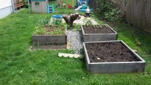 garden on 1/4 acre