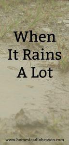 What We Do When It Rains A Lot – A Confession